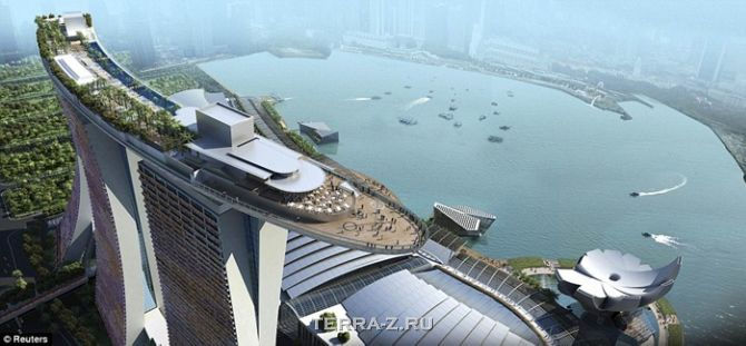 "Отель ""Marina Bay Sands"" (Сингапур)"