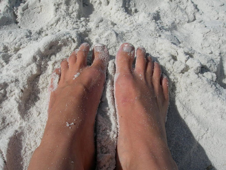 My happy feet - Hyams Beach_ Jervis Bay_ NSW
