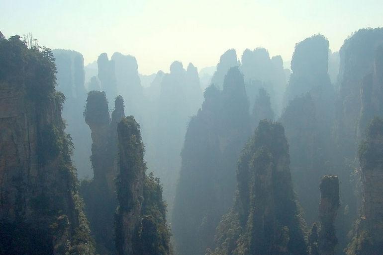Горы Хуаншань: прототип висячих гор Пандоры (Китай)