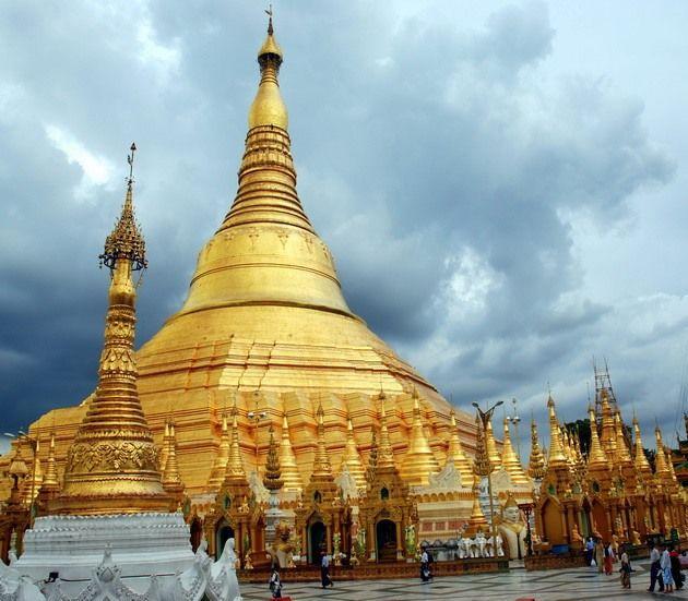 ПАГОДА ШВЕДАГОН. Мьянма