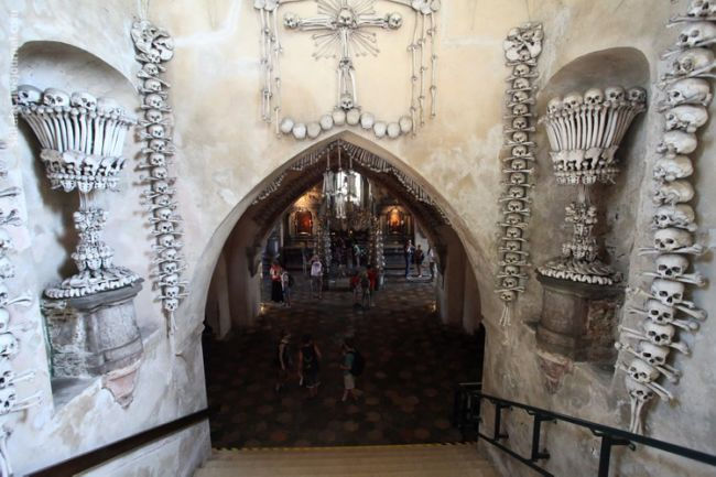 Костехранилище в Седлеце (костница Кутна Гора)