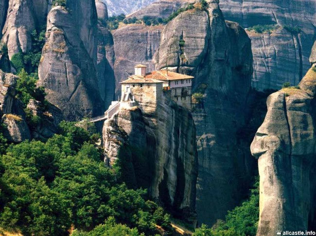 Монастыри Метеоры (Фессалия, Греция)