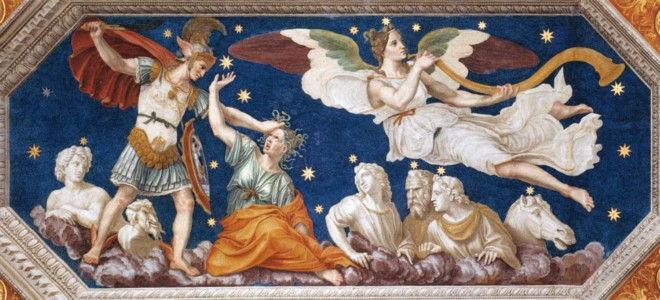 Персей и Пегас. Бальдассаре Перуцци, 1510