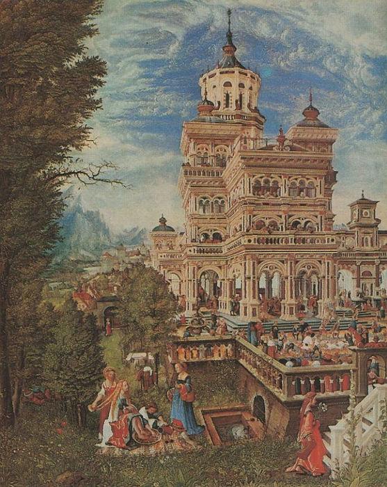 История Сусанны. Альтдорфер Альбрехт, 1526.