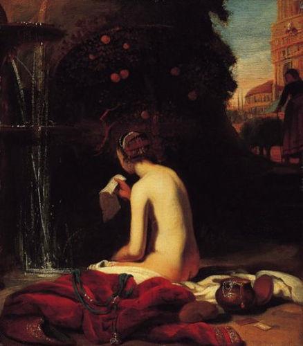 """Cornelis Bisschop, """"Bathsheba"""", 1660"""