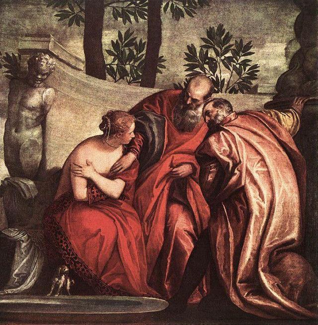 Сусанна в купальне. Паоло Веронезе, вторая половина 16 века.