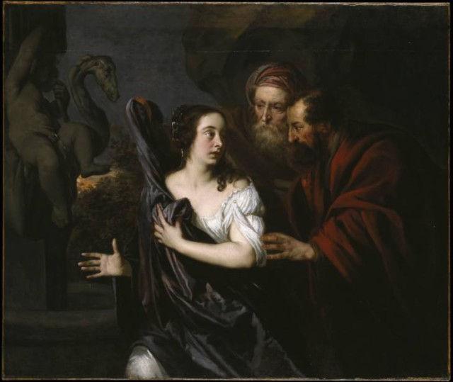 Сусанна и старцы. Питер Лели, 1650-5