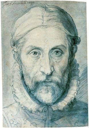 Джузеппе Арчимбольдо, автопортрет