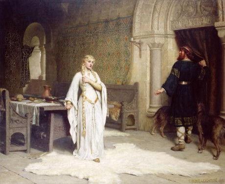 """Эдмунд Лейтон """"Леди Годива"""", 1892"""
