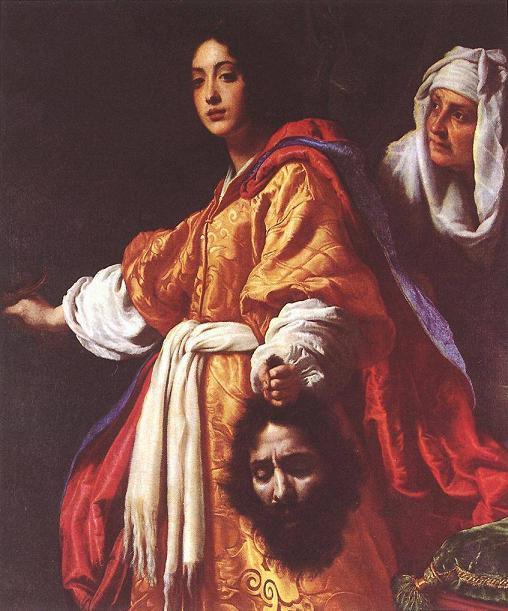 Кристофано Аллори Юдифь с головой Олоферна 1613 г.