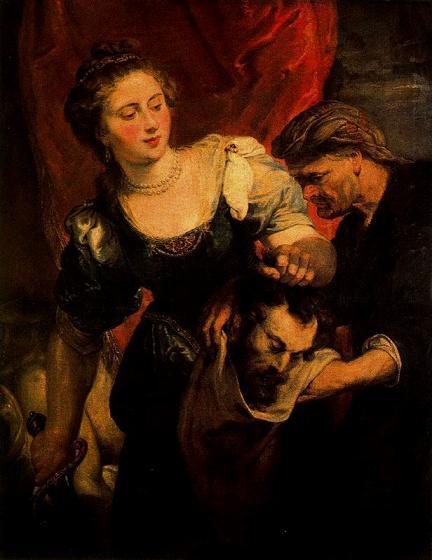 Питер Пауль Рубенс Юдифь с головой Олоферна 1620-22 г.г.