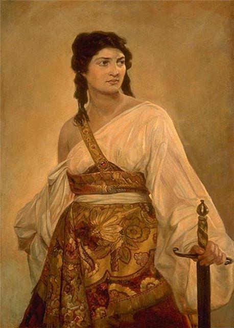 Пауль Пил Юдифь 1888 г.