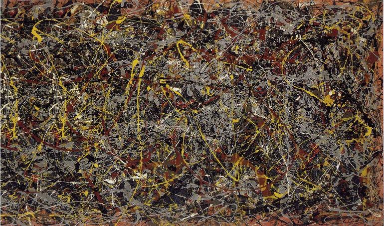 """1. """"№ 5, 1948"""", Джексон Поллок"""