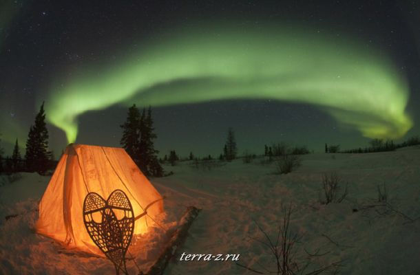 Northern Lights at Churchill, Manitoba, Canada