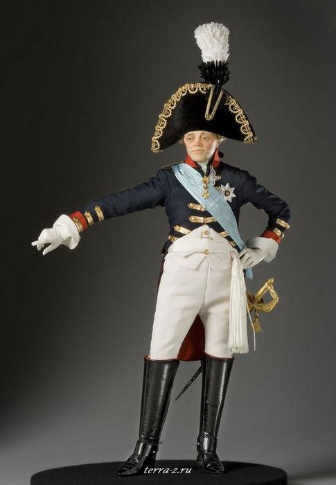 Павел I Петрович (1754–1801 – российский император, сын Петра III и Екатерины II Великой. В 1796 Павел наследовал трон. Был убит группой заговорщиков из гвардейских офицеров в ночь с 11 на 12 (23–24) марта 1801.