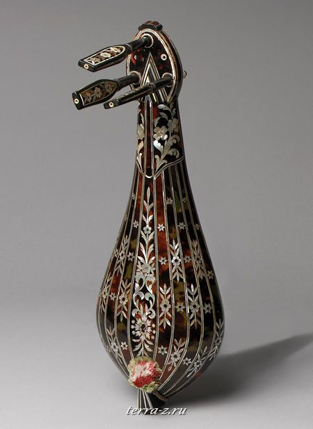 Lira, ca. 1890. Greece. Wood, tortoiseshell, ivory
