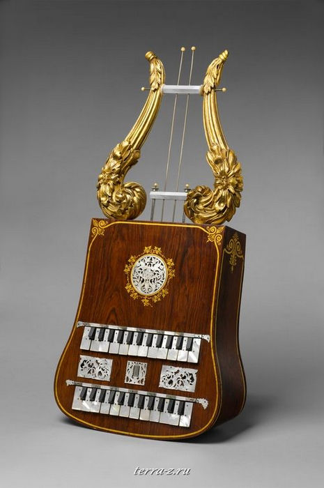Apollo Lyre, 1848 – 53