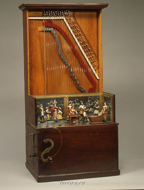 Barrel Piano, ca. 1860
