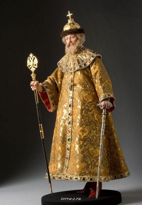 Царь Михаил Федорович Романов (1596–1645) – первый русский царь династии Романовых