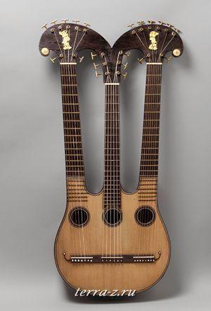 Harpo-lyre, ca. 1830