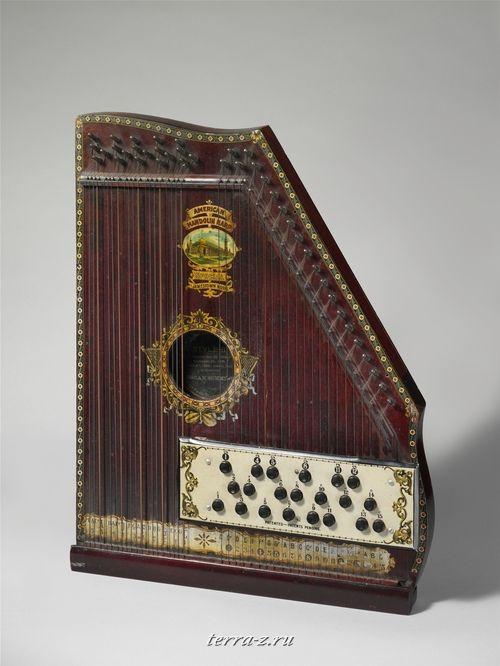 Mandolin Harp, ca. 1900
