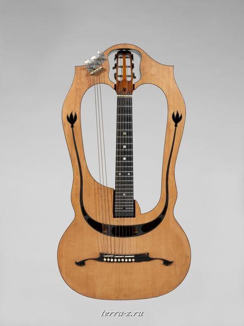 Harp Guitar, ca. 1915