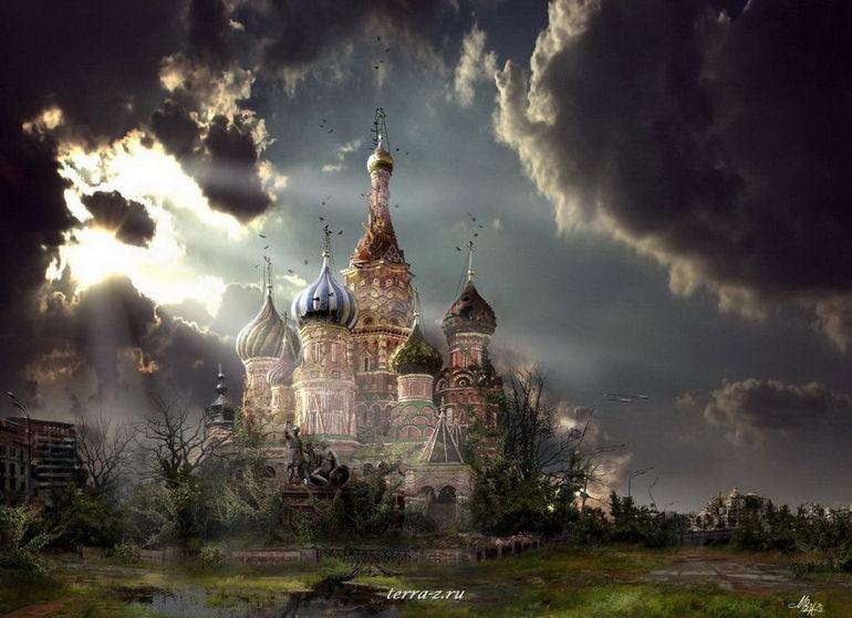Москва после апокалипсиса глазами Владимира Манюхина