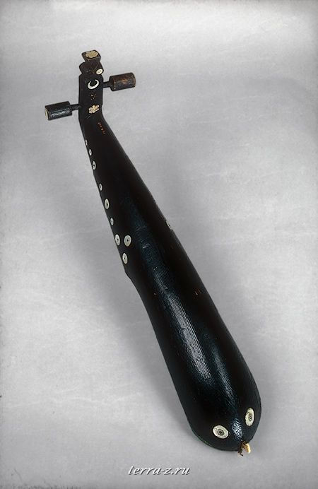 Rebab or rabab, 19th century. Algeria. Wood, parchment, metal, ivory, leather