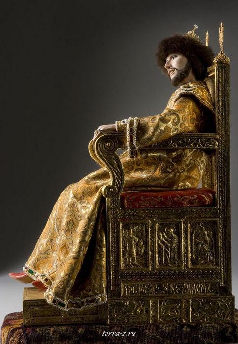 Иван V Алексеевич (27.08.1666-29.01.1696), русский царь в 1682-1696 годы