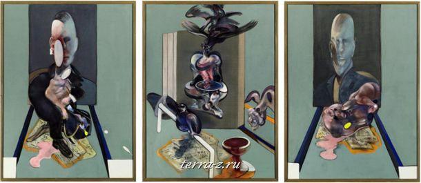 """""""Триптих, 1976"""" Фрэнсис Бэкон"""