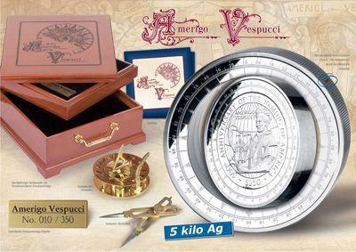 British Virgin Islands - 2007 - 2x 250 Dollars - Amerigo Vespucci