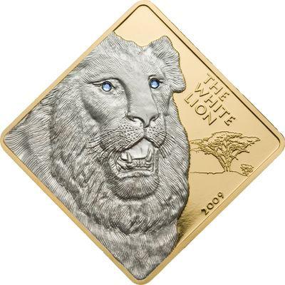 Malawi - 2009 - 500 Kwacha - Rare Wildlife Series WHITE LION