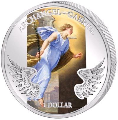 Solomon Islands - 2009 - 1 Dollar - Guardian Angels ARCHANGLE GABRIEL
