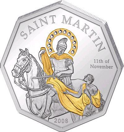Cook Islands - 2008 - 5 Dollars - Saint Martin