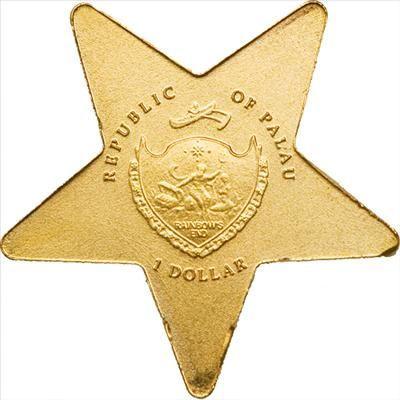 Palau - 2009 - 1 Dollars - Lucky Star
