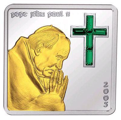 Mariana Islands - 2005 - 5 Dollars - Pope John Paul II