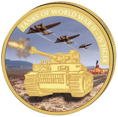 Liberia - 2008 - 250 Dollars - Tanks of WWII: VI Tiger