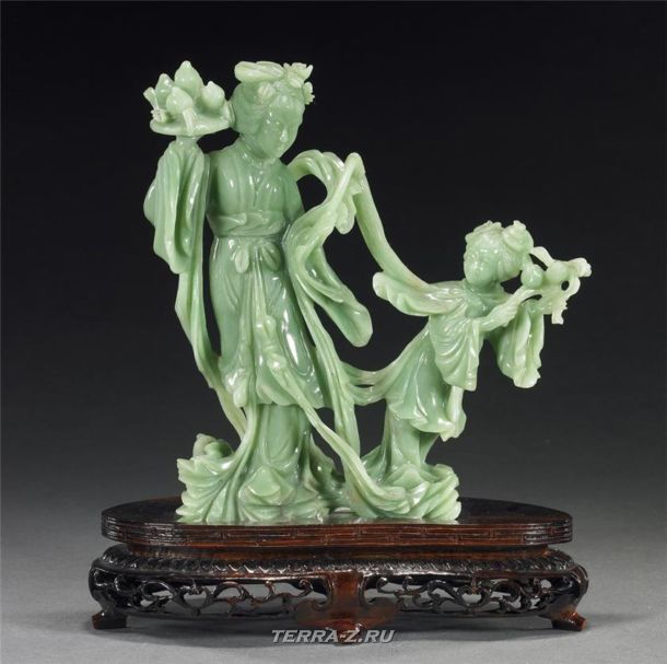 Линь Ли – китайская резная скульптура