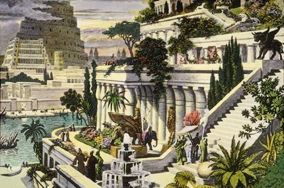Висячие сады Семирамиды, 19 век