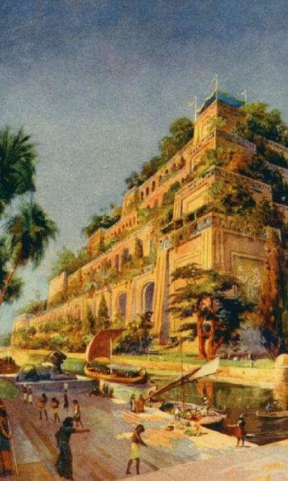 Висячие сады Семирамиды, современная реконструкция