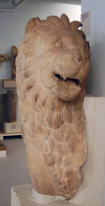 Статуя мавзолея в Галикарнасе, лев