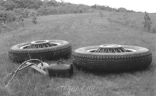 Studebaker President - колеса
