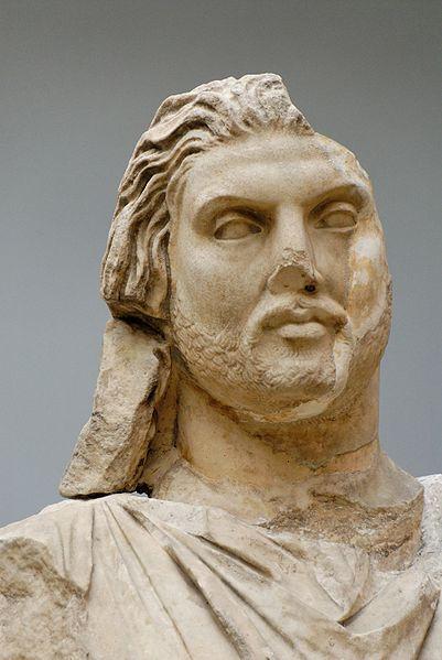 Статуя мавзолея в Галикарнасе, предположительно Мавсола (фрагмент)