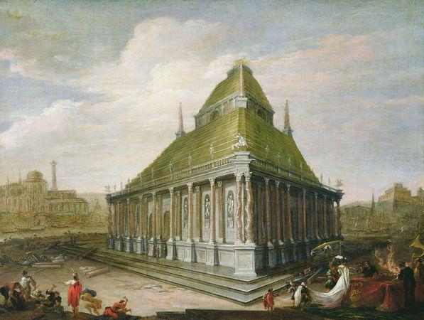Реконструкция мавзолея в Галикарнасе