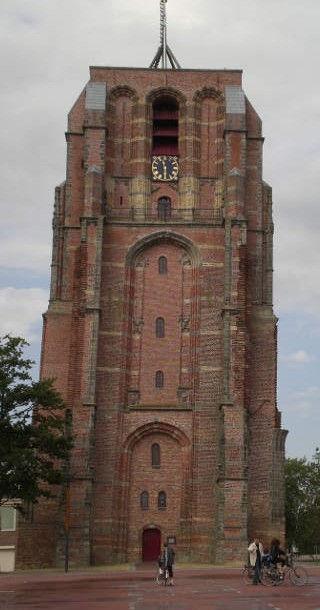 Падающая башня в Олдехове