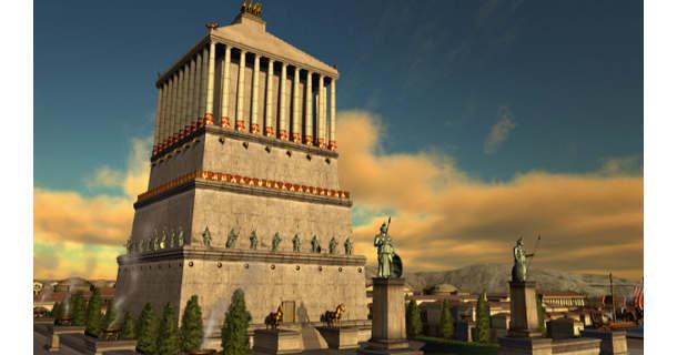 Семь чудес света - мавзолей в Галикарнасе