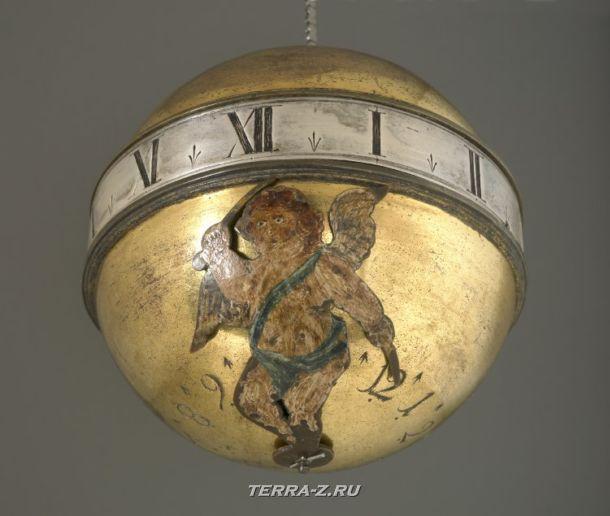 Уникальные механические стационарные часы. Германия, 1686
