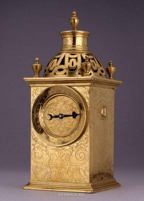 Уникальные механические стационарные часы. Лондон, 1575-1585
