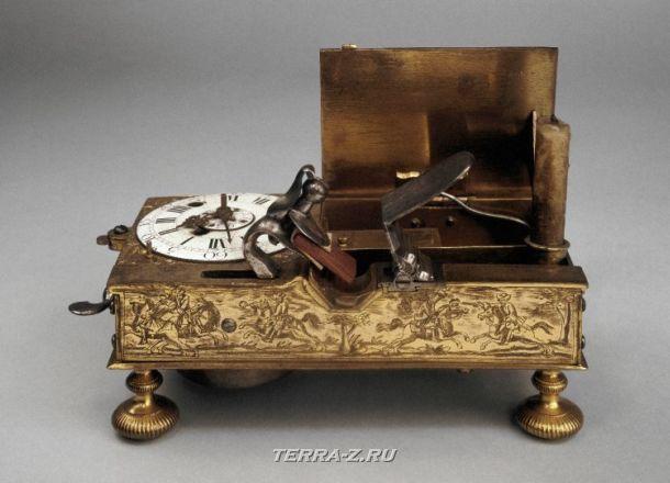 Уникальные механические стационарные часы. Австрия, 1715-1725 (?)
