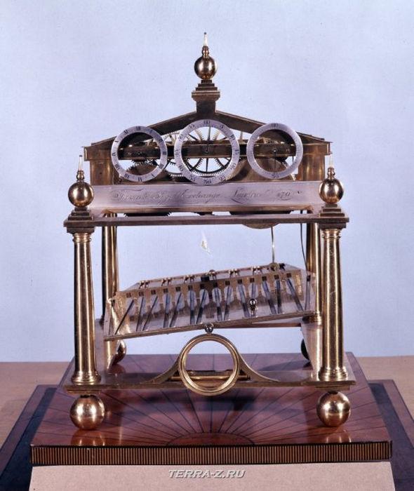 Уникальные механические стационарные часы. Лондон, 1805-1815